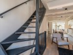 Steep Stairs to Bedrooms