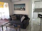 Open-plan lounge / kitchen