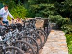 Enjoy complimentary bike rentals when you stay here