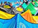 rif raf beach kite surf eilat israel