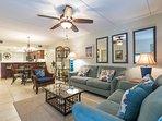 Edgewater 404 Living Area