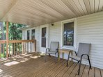 Hang out and shoot the breeze on the front porch.