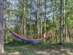 Take a nap outside in the hammock.