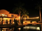 Villa Tranquila is an amazing venue for weddings!