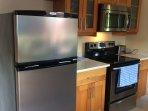 Kitchen/ Fridge, Stove & Microwave