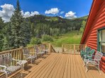 Spend hours watching the wildlife from this large 2nd-story deck.