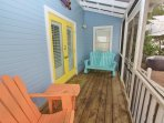 Entry Porch with Adirondack Rockers