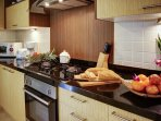 Fully fitted western style Kitchen