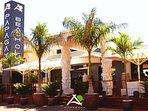 papagayo beach club and restaurant in 8 min by walk