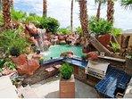 Pool resort area Designer's model