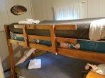 Bunk beds in Cabin #2