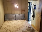 Double bed in Cabin #2