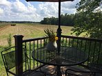 Enjoy a private quiet peaceful and perfect afternoon here under your umbrella overlooking country