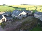 outbuildings of upcott farm house