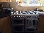 Large 4 oven range cooker