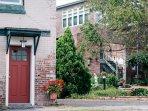 DeMew House Red Door