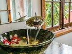 Handbasin in master bedroom ensuite