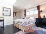 third floor queen bedroom with private bath