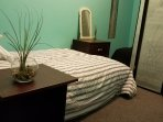 Bedroom comes with a small plant to bring you lots of positive energy and love.
