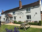 The Swan Pub - within the heart of the village of Hanley Swan offering fantastic food and drink
