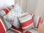 Woolacombe Holiday Cottages 2 Gull Rock Lounge Cushions