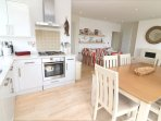 Woolacombe Holiday Cottages 2 Gull Rock Kitchen