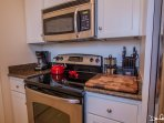 microwave, dishwasher and more available