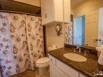 shower/tub combination bathroom