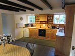 Pool cottage Kitchen/dinning room