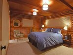 Master bedroom, queen bed and 32' Smart TV