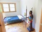 Main Floor Sunroom Futon bedroom