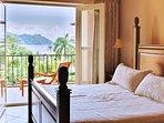 Bedroom,Indoors,Room,Balcony,Hardwood