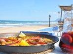 Gastronomía a pie de playa