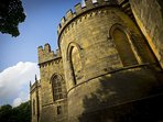 We really could not be nearer to stunning Lancaster Castle!