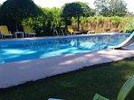 Preciosa piscina.