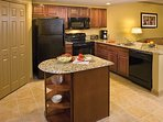 Kitchen has all the dishes and utensils includes for your use!