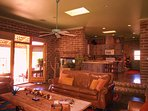 1800 sq ft 'adobe' casita with two large bedrooms, full kitchen/bath (sleeps 6+)