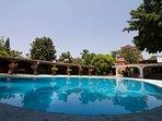 Quinta Sol y Luna / Ideal para vacacionar y con jardín espacioso para bodas.