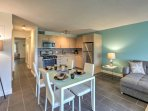 This newly remodeled condo offers everything you need for a much deserved getaway.