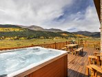 NEW! 4BR Alma Cabin w/ Mountain Views & Hot Tub!