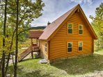 Disconnect from the world to relish in the natural beauty of Colorado from this ideally situated cabin.