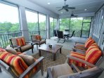 Overall View of Screened Porch