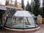 Year Round Domed Hot Tub