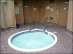 Enjoy the Common Area Hot Tub