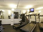 Full Equipped Shared Fitness Room
