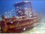 Small Workboat wreck