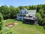Lake St-Francois-Xavier's Villas - Villa # 2 - up to 14 people
