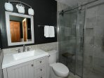 Full Bathroom # 2 - Large walk-in shower.