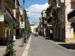 zona commerciale del paese