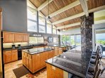 Massive kitchen, perfect for making home cooked meals!